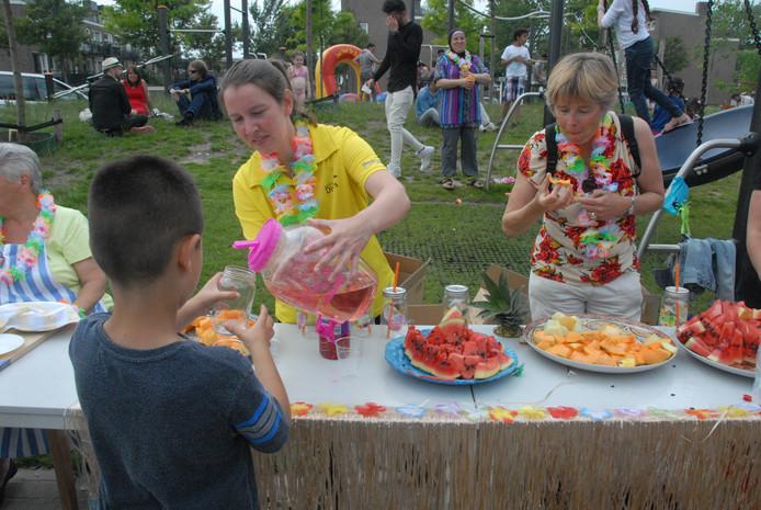 Fruit was er op het zomerfeest in overvloed.