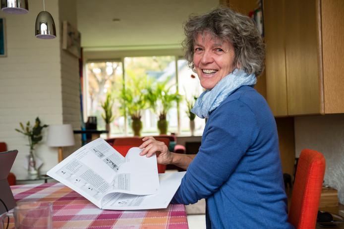 Ivonne Wopereis presenteert morgen in het Kulturhus haar yogahandboek, waar zij drie jaar aan gewerkt heeft.