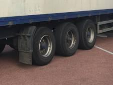 Vluchtelingen in vrachtwagen op Hurksestraat Eindhoven