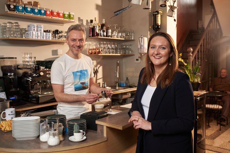 'Pauze', heet de koffiebar van Jimmy Geurts in Aarschot. Iets wat Gwendolyn Rutten zeven jaar lang niet gegund was: geen job zo slopend als die van partijvoorzitter.