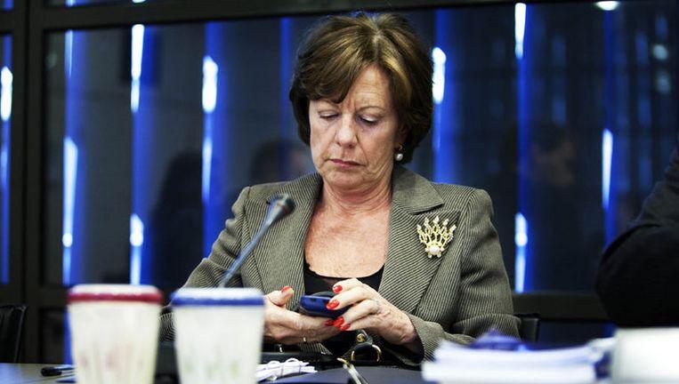 Balkenende probeert opnieuw de zeer gewilde portefeuille Concurrentie in de wacht te slepen. Mocht dat lukken, dan krijgt huidig eurocommissaris Neelie Kroes een tweede termijn. Foto ANP Beeld