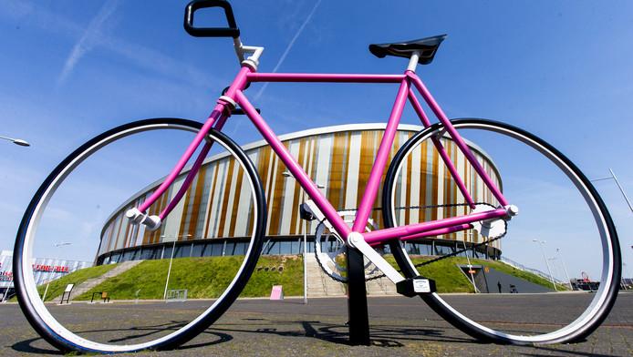 Apeldoorn kleurt roze voor de start van de Giro.