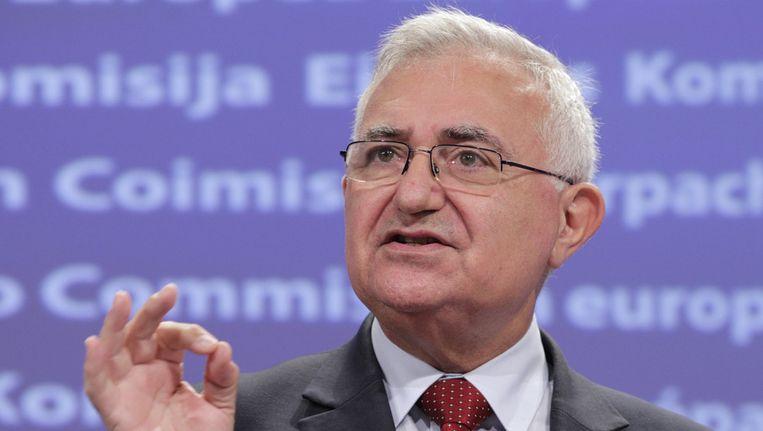 Eurocommissaris voor Volksgezondheid, John Dalli. © ap Beeld ap
