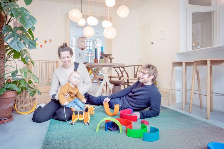 Annemieke, Oliver en Tim.  Beeld Marleen Sleeuwits