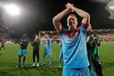 Wout Brama vierde zijn 250ste wedstrijd met het winnen van de periodetitel.