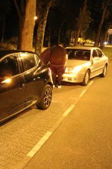 Politie sust ruzie tussen twee botsende automobilisten in Overvecht