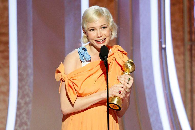 Michelle Williams wint een Golden Globe.