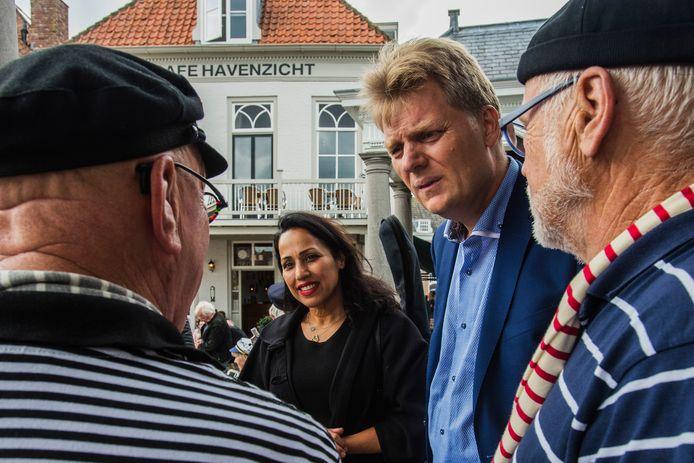 Jan Hamming, burgemeester van Zaanstad