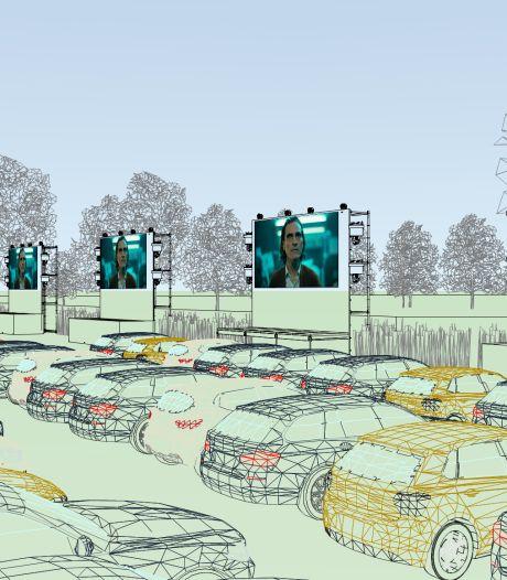 Tilburg krijgt een drive-in bioscoop bij het Willem II-stadion