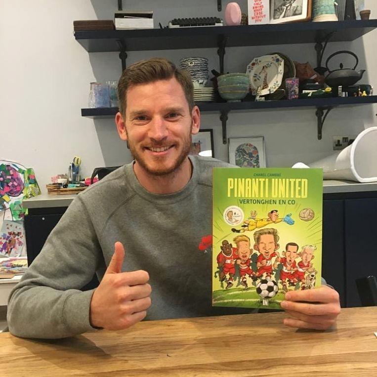 Jan Vertonghen is blij dat via de nieuwste strip van Pinanti United centen opgehaald worden voor zijn Foundation.