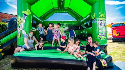 Actieve heropstart kleuterschool dankzij springkastelen