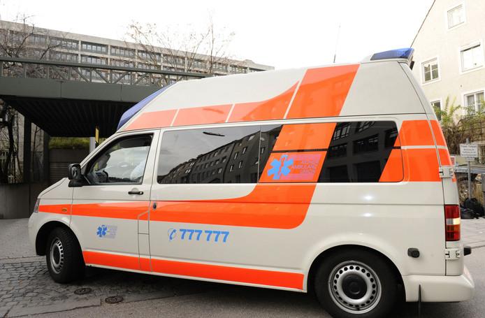 Een Duitse ambulance. Foto ter illustratie.