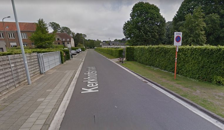 De man werd opgepakt in de Kerkhofstraat.