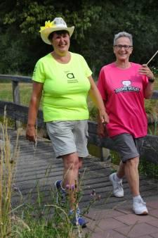 Roze woensdag bij de Vierdaagse: 'muziek geeft de spieren een oppepper'