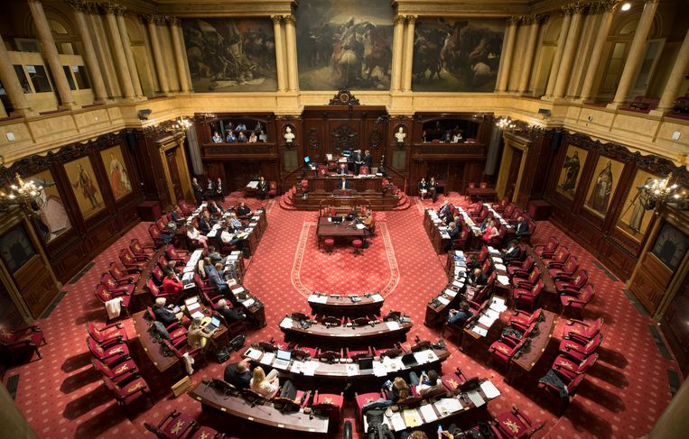 Archiefbeeld - De Belgische Senaat
