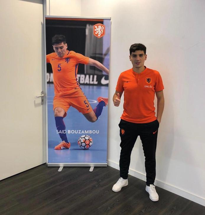 Saïd Bouzambou speelde al veertig interlands voor Oranje.