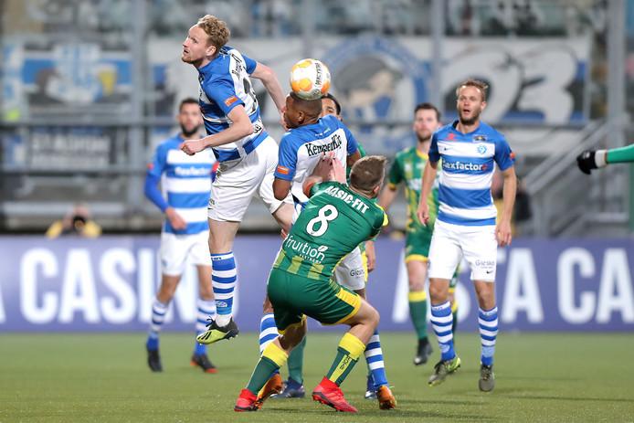 De Graafschap speelde zaterdag met 0-0 gelijk bij  ADO Den Haag.