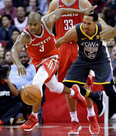 Houston Rockets stopt zegereeks NBNA-kampioen Warriors