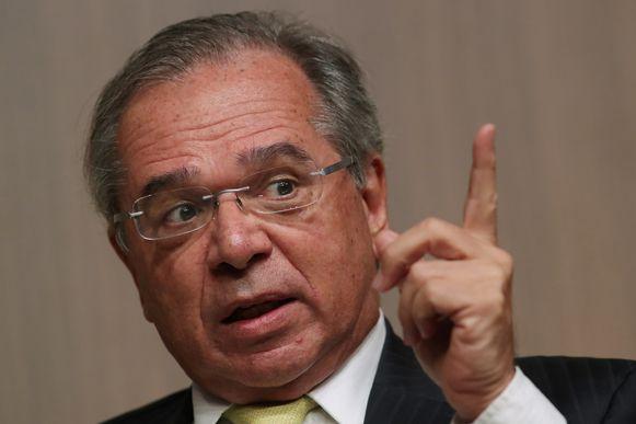 De Braziliaanse minister van Economie Paulo Guedes.