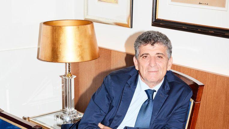 Pietro Bartolo, een arts die vluchtelingen op Lampedusa behandelt. Beeld Valentina Vos