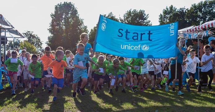 Het ging in Zwolle om de 22ste editie van de UNICEF Loop.