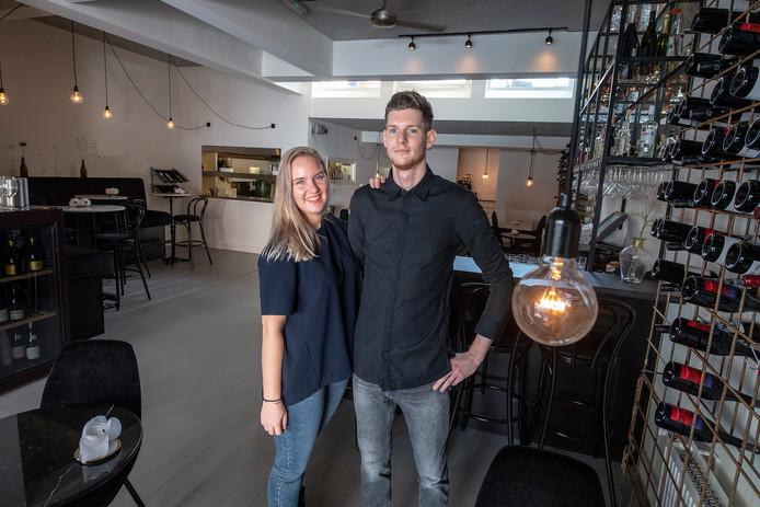 Heleen Brons en Robbert van Sonsbeek.
