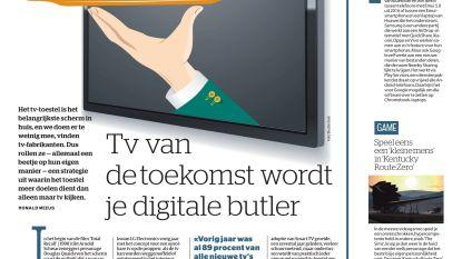 Tv van de toekomst wordt je digitale butler