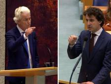 Klaver, Wilders, Segers en Baudet vliegen elkaar in de haren over rellen avondklok