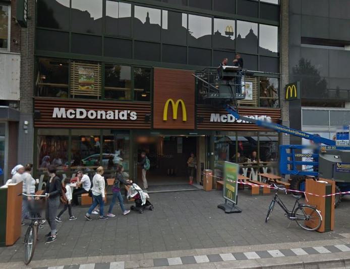 De McDonald's aan de Karnemelkstraat in Breda.