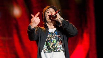 Ophef rond Eminem die rapt over aanslag in Manchester