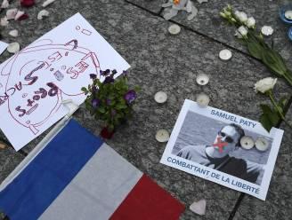 Ook in Brussel hommage aan leerkracht die onthoofd werd