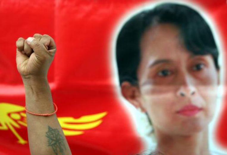 NEW YORK (ANP) - Myanmar werkt aan een amnestieregeling voor politieke gevangenen. Die kunnen dan meedoen aan de verkiezingen die volgend jaar in het Zuidoost-Aziatische land worden gehouden. Dit heeft de ambassadeur van Myanmar bij de Verenigde Naties maandag gezegd. Beeld EPA