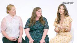 Amy Schumer, Aidy Bryant en Emily Ratajkowski geven inkijk in hun telefoons