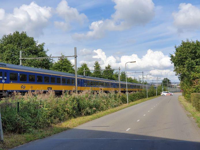 De trein staat nog stil.