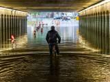 Prinsessetunnel in Enschede nu 'veilig' bij regenval