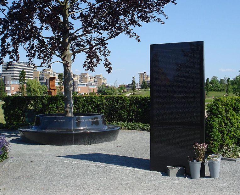 Oorlogsmonument Leidschendam-Voorburg Beeld Wikimedia
