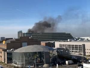 Incendie éteint au Palais 5 du Heysel, pas de victime à déplorer