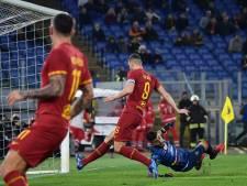 AS Roma beëindigt slechte reeks met zege op Lecce