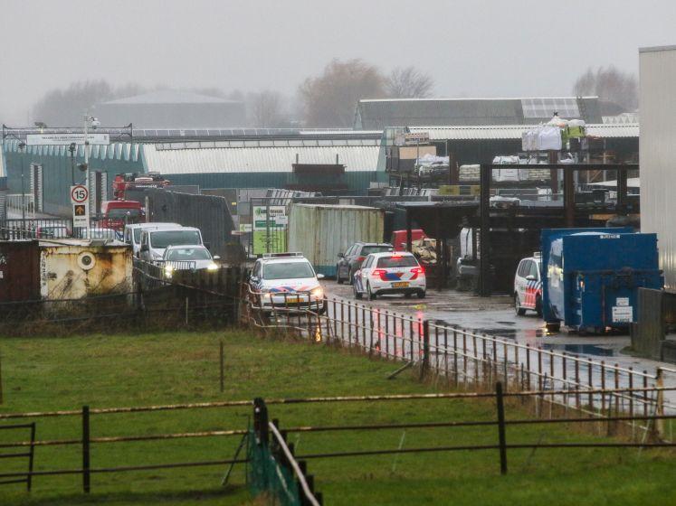 Politie stort zich op containerpark Bergschenhoek: wat spookten drugscriminelen er uit?