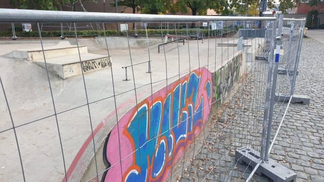 Skatepark achter gevangenis met onmiddellijke ingang gesloten