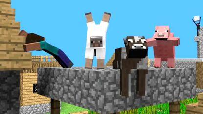 'Harlem Shake' verovert Minecraft