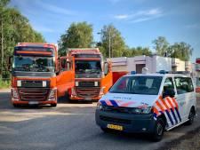 Stoffelijk overschot gevonden in vrachtwagen in Denekamp, misdrijf uitgesloten