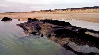 Zee legt na meer dan 100 jaar resten bloot van duikboot die verging in Eerste Wereldoorlog