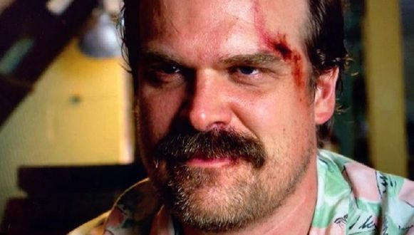 David Harbour als Jim Hopper in 'Stranger Things'