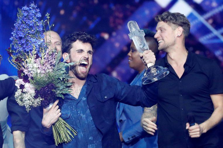 Duncan Laurence wint het Eurovisie Songfestival in Tel Aviv  Beeld REUTERS