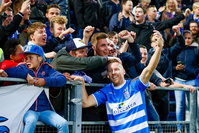 Mike van Duinen en PEC Zwolle maken zich op voor een nieuw seizoen in de eredivisie.