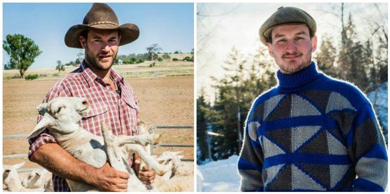 Cowboy Jan en zorgboer Jitse