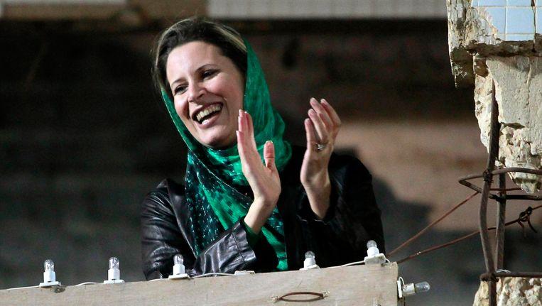 Aisha Kaddafi Beeld REUTERS