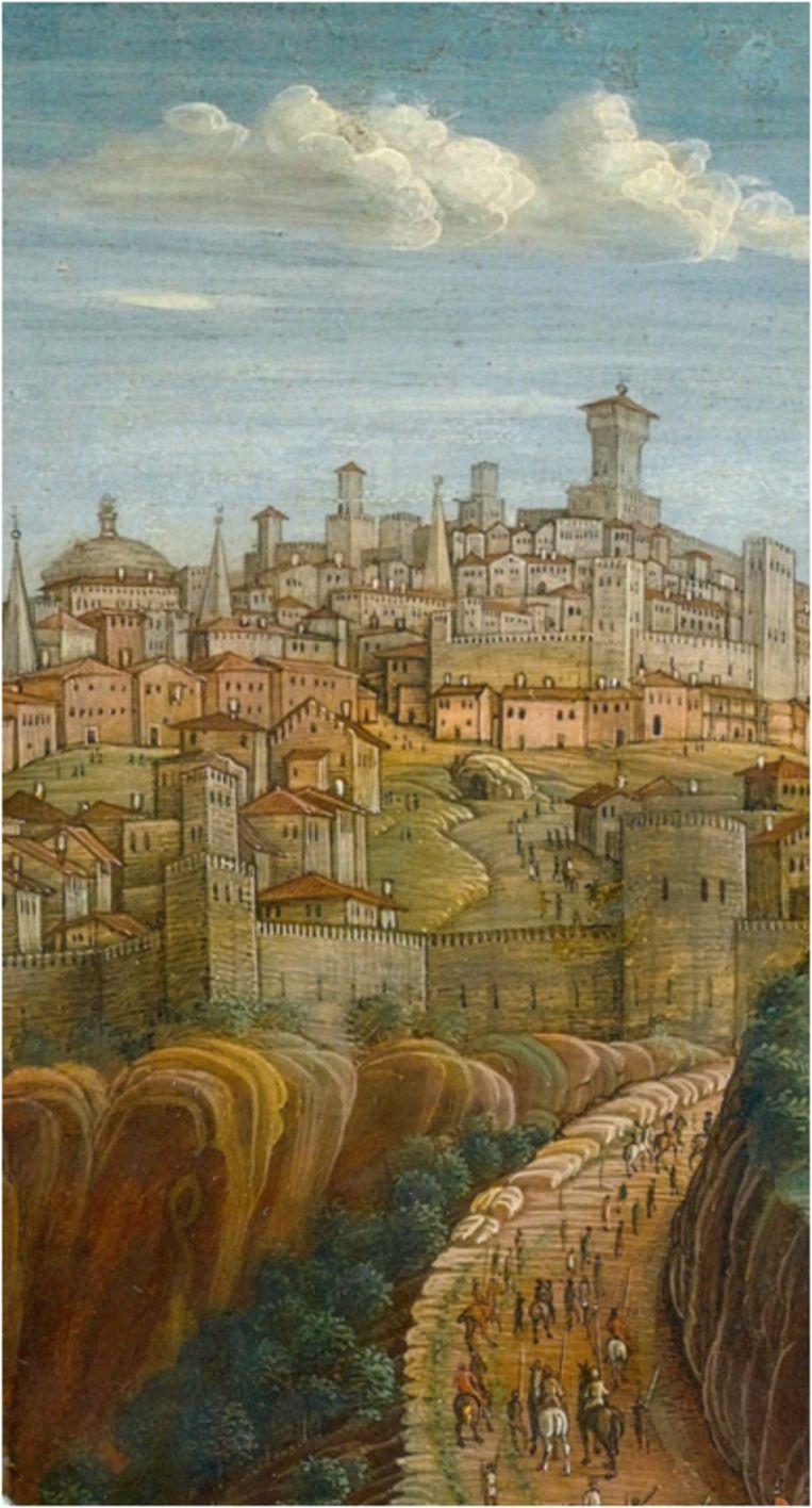 Van mevr. Trix Willemse, De Kruisiging, Andrea Mantegna, 1457-59, Louvre Parijs Beeld Louvre Parijs