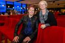Riny Hoekerswever (achter) met Saskia Bosch.